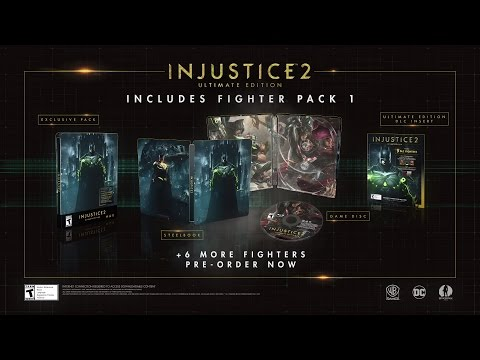 Injustice 2 - Fighter Pack 1 Revealed!