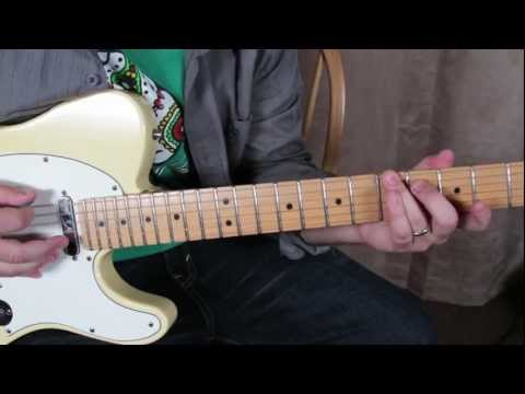 How to Play Sublime on guitar - April 29th 1992 (Riot Song) - Fender Telecaster