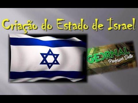 52 GEORNAL - Criação Do Estado E Israel