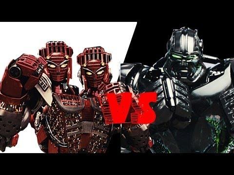 Real steel Twin Cities vs Zeus(the legendary battle)ЖИВАЯ СТАЛЬ XBOX 360/PS3