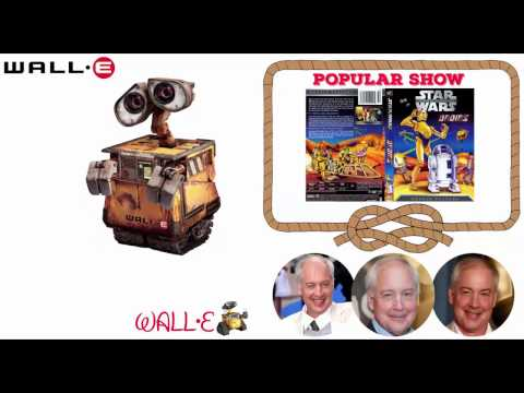 WALL-E - Voice Behind the Characters