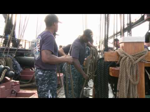 Chief Petty Officer Selectees Live, Train Onboard USS Constitution