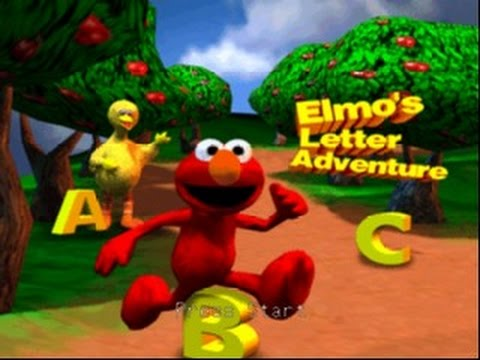 Such An Annoying Thing | Gameplay | Elmo's Letter Adventure (N64)