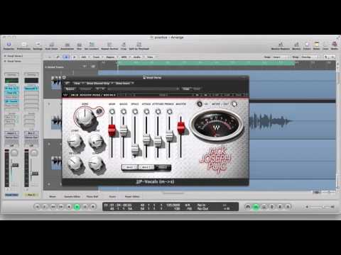 Logic Pro Tutorial Jack Joseph Plugin  Lead Vocals