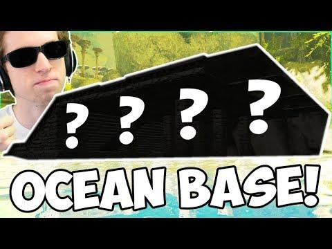 BUILDING MY HIDDEN OCEAN BASE! - ARK: Abanterration SMP #9