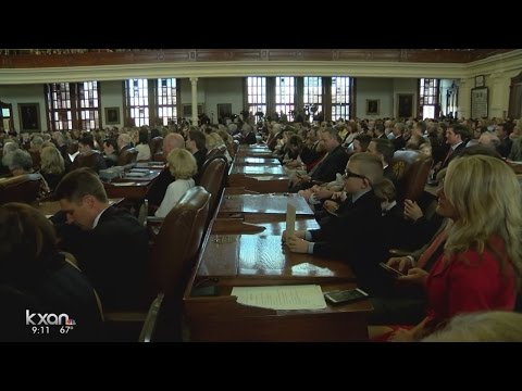 What items are the main focus for the 85th Texas Legislative Session