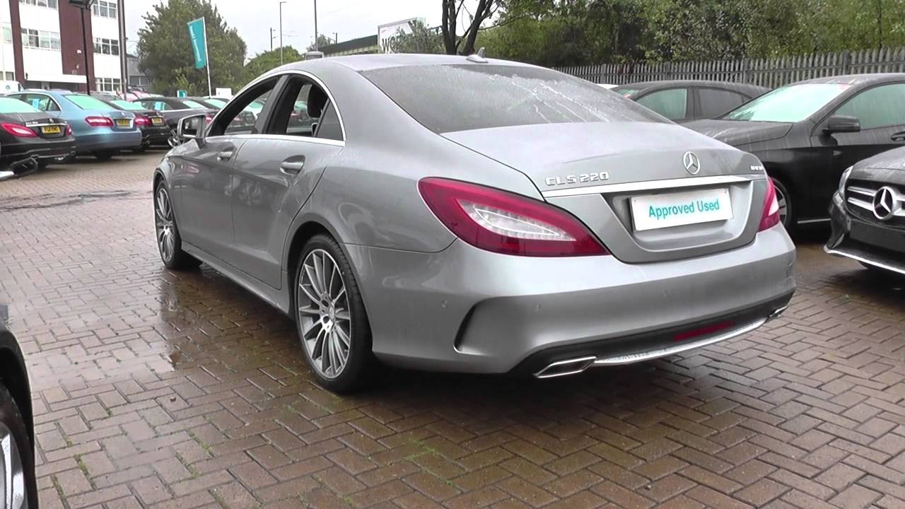 mercedes benz cls cls 220 bluetec amg line premium 4dr 7g tronic u22325 youtube. Black Bedroom Furniture Sets. Home Design Ideas