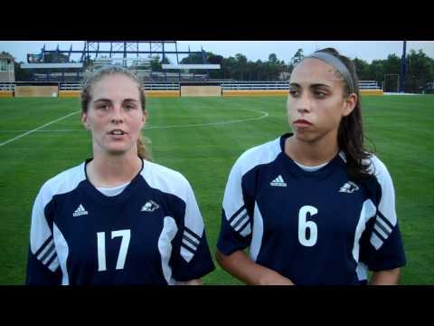 Zips Women's Soccer Postgame Interview Fri., Aug. 13