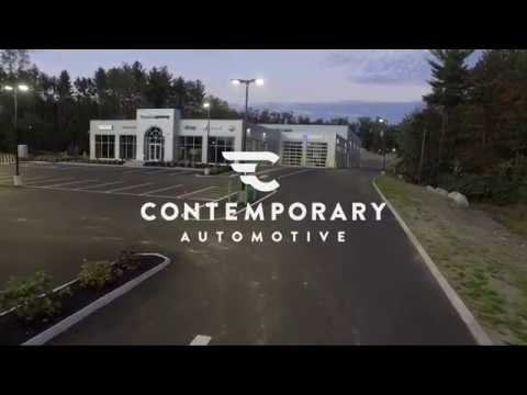 New State of the Art Solar Powered Dealership in Milford, NH! Contemporary Automotive