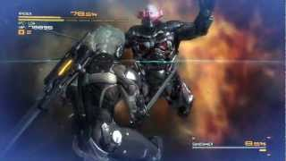 Metal Gear Rising: Sundowner Boss Fight HD