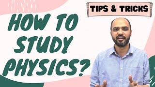 HOW TO STUDY PHYSICS - for NEET 2020 \u0026 NEET 2021 students - NEET Preparation Motivation Tips \u0026 Trick