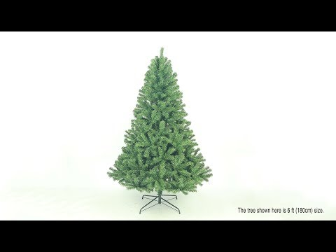 Eco-Friendly Oncor Alaska Pine Christmas Tree Assembly (SKU: 33070 to 33079)