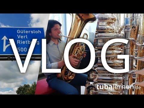 Wie Man Eine Tuba Kauft: Besuch Bei FMB In Gütersloh. Vlog #1