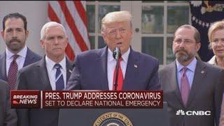 President Donald Trump's full coronavirus Rose Garden press conference