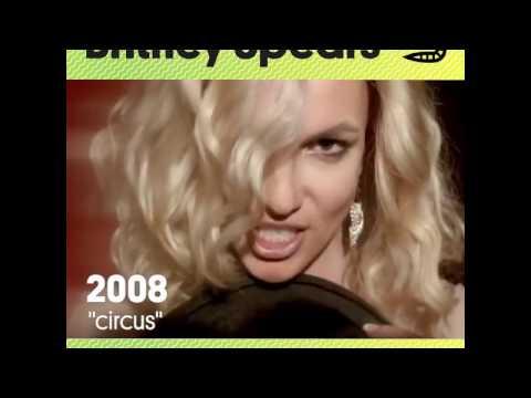 Britney Spears - Music Video Evolution | Billboard