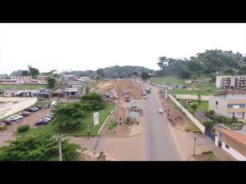 Gabon : Les travaux avancent sur la nationale n°1 ; PK5 - PK12