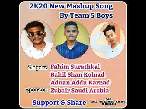 2k20 New Mashup Song /// By Team 5 Boys