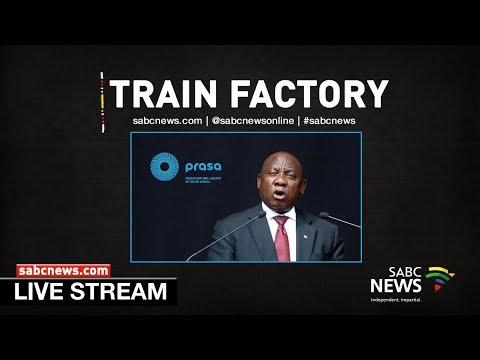 President Ramaphosa launches new train factory in Ekurhuleni