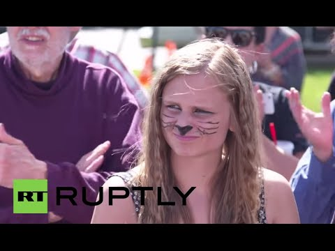 USA: Killer of Cecil the lion gets angry work-call from protesters