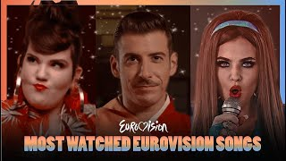 Eurovision TOP 25: Most Watched Eurovision Songs