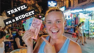 How Expensive is Bangkok? | 1 Day on a Budget