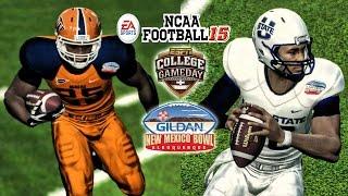 NCAA Football 15 - Utah State vs UTEP   Gildan New Mexico Bowl!