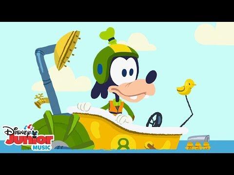 Row, Row, Row Your Boat ⛵️  | 🎼  Disney Junior Music Nursery Rhymes | Disney Junior