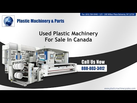 Used Plastic Machinery For Sale In Canada