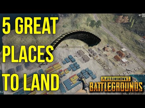 5 More Great Places To Land In BATTLEGROUNDS