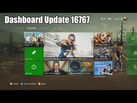 Xbox 360 Dashboard 16767 (September 2014) - Info & Updates!