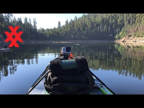 Solo Stand Up Paddle Board Expedition on Blue Ridge Reservoir in Arizona