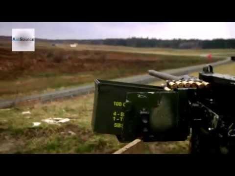M2A1 .50 Caliber Machine Gun Mounted Weapons Live Fire