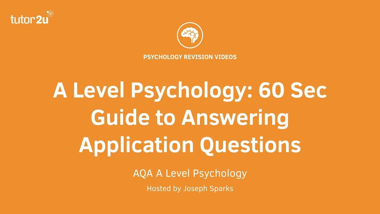 psychology degree level essay