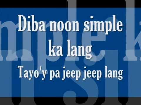 Iba Ka Na Pala Ngayon Lyrics- Mike Luis (freestyle)