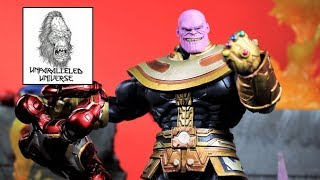 Disney Exclusive Marvel Select Thanos Action Figure Review