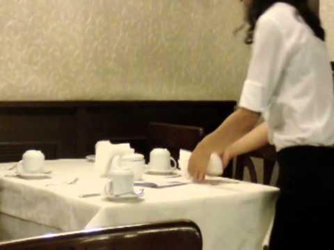 Orient Express breakfast restaurant