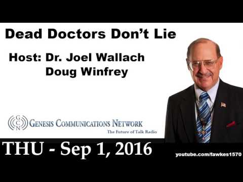 Average Lifespan of Western Doctor's Is 56? [9/1/16] Audio Podcast