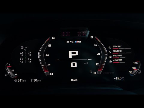 0-62 mph in 3.8 seconds - 2020 BMW X5 M Competition and X6 M