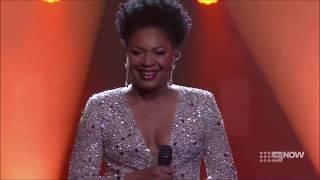 Angela Fabian - I Still Haven't Found What I'm Looking For (U2) - The Voice Australia Showdowns