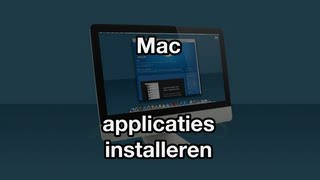 Applicaties installeren (VideoBytes - Mac)