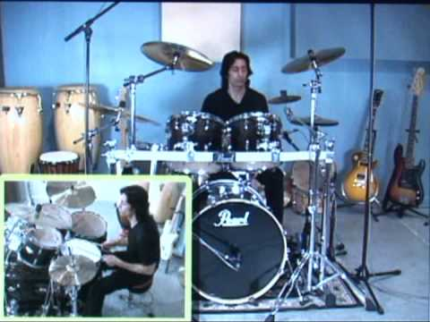 Lesson Video, True Basics of Drumming -  John Bonham Triplets