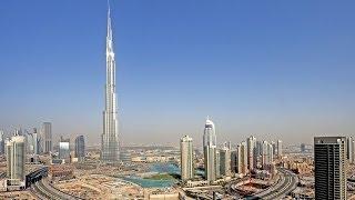 DJI Phantom High Altitude 2425ft climb of Burj Khalifa World's Tallest Building