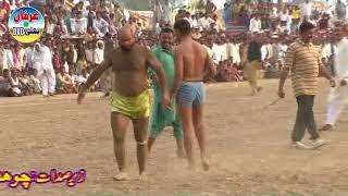 Kabadi Match part 1 Mala Peer Masoom Shah Almarof Lolhay Shah Jhang Sadar 2017