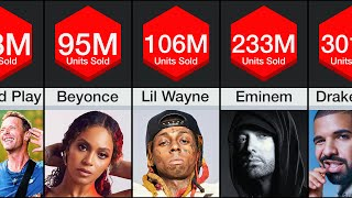 Comparison: Best Selling Music Artists
