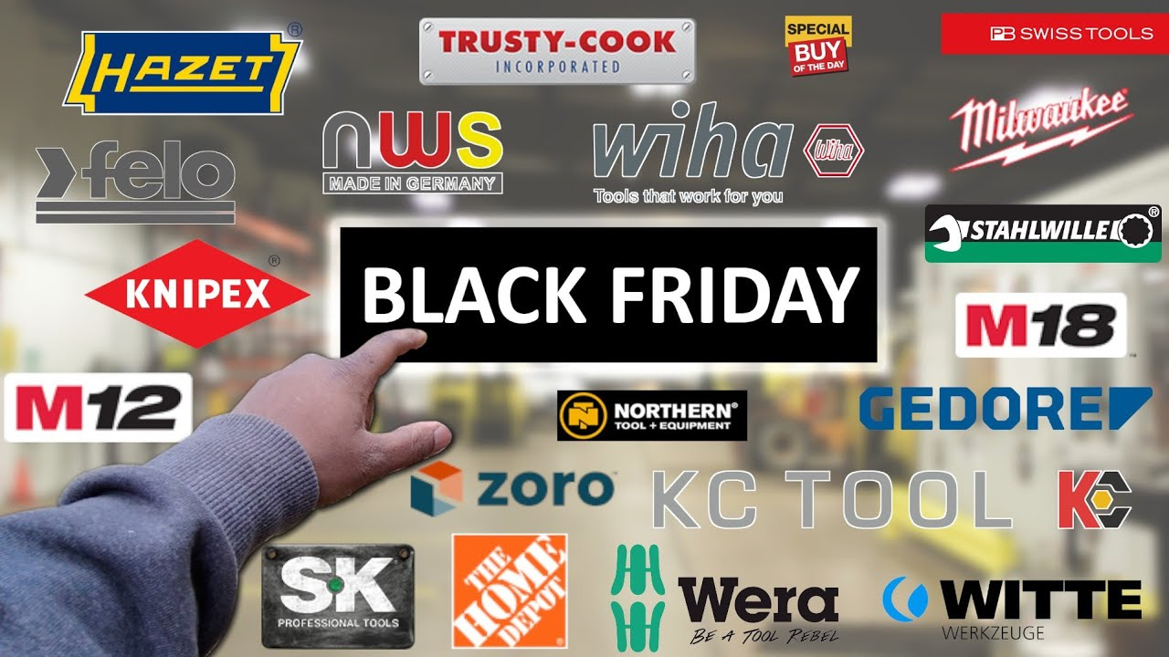 Black Friday / Cyber Monday Tool Deals 2019 - YouTube