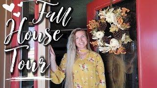 🏡HOUSE TOUR FALL 2018 | FARMHOUSE STYLE | Hannah's Happy Home