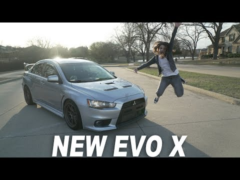 I BOUGHT A MITSUBISHI EVO X
