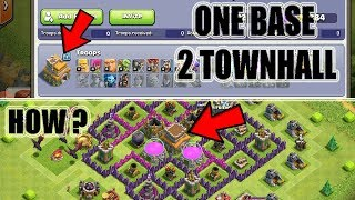 (HINDI) OMG ONE BASE IN 2 TOWN HALL NEW SECRETS PLAYER IN CLASH OF CLANS