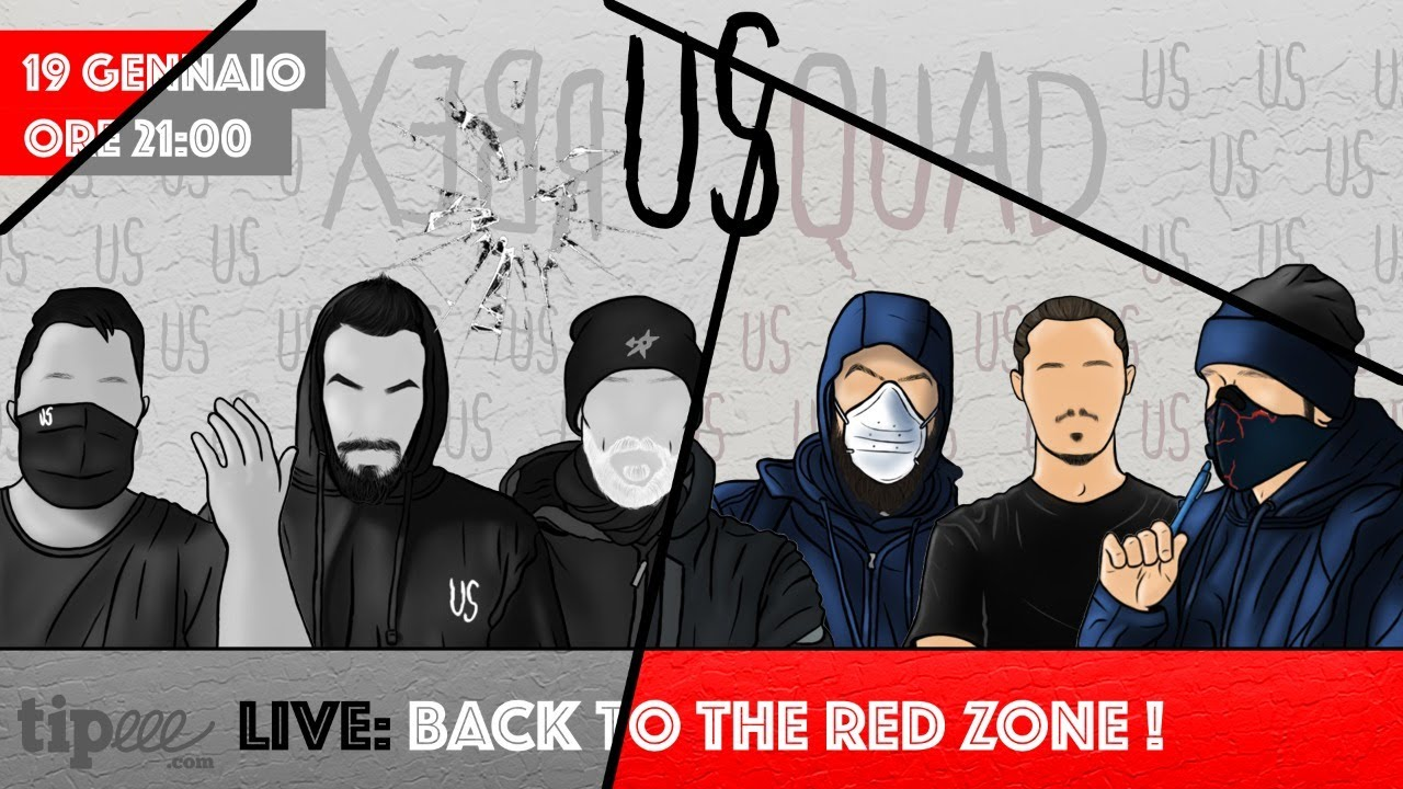 LIVE: BACK TO THE RED ZONE