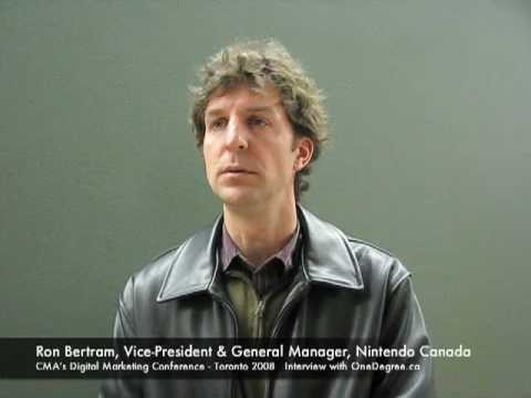 Interview with Ron Bertram, Vice-President & General Manager, Nintendo Canada